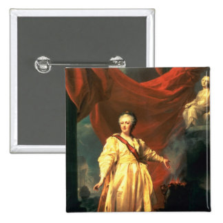 Portrait of Catherine the Great as Lawgiver Button