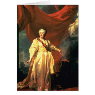 Portrait of Catherine the Great as Lawgiver Card