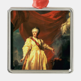 Portrait of Catherine the Great as Lawgiver Metal Ornament