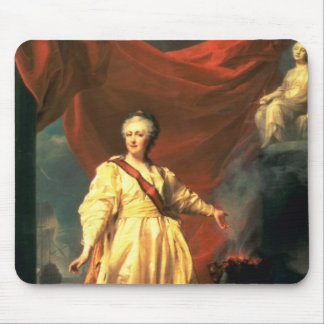 Portrait of Catherine the Great as Lawgiver Mouse Pad
