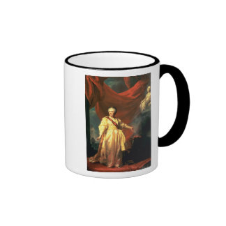 Portrait of Catherine the Great as Lawgiver Ringer Mug