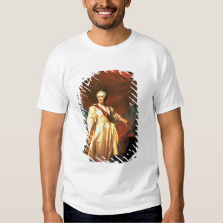 Portrait of Catherine the Great as Lawgiver Tee Shirt