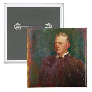 Portrait of Cecil John Rhodes  1898 2 Inch Square Button