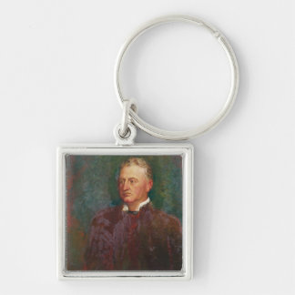 Portrait of Cecil John Rhodes  1898 Key Chain
