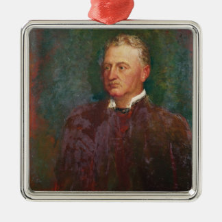 Portrait of Cecil John Rhodes  1898 Metal Ornament