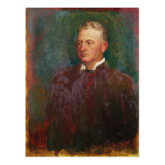 Portrait of Cecil John Rhodes  1898 Postcard