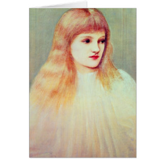 Portrait of Cecily Horner, 1895 Card