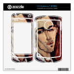 Portrait of Celso Laga by Amedeo Modigliani LG Optimus 7 Decals