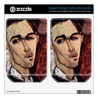 Portrait of Celso Laga by Amedeo Modigliani FreeAgent GoFlex Decals