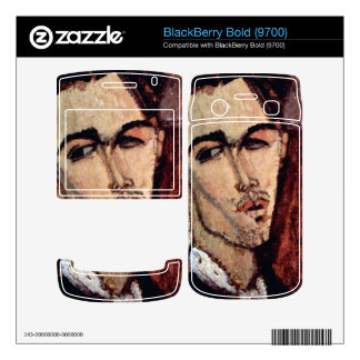 Portrait of Celso Laga by Amedeo Modigliani Skin For BlackBerry