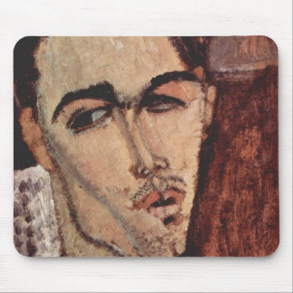 Portrait of Celso Lagar - Amedeo Modigliani Mouse Pads