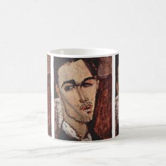 Portrait of Celso Lagar - Amedeo Modigliani Mugs