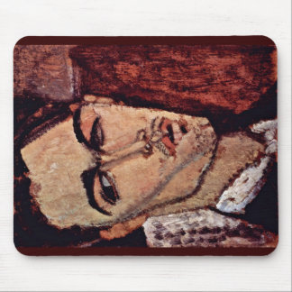 Portrait Of Celso Lagar By Modigliani Amedeo Mouse Pad