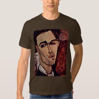 Portrait Of Celso Lagar By Modigliani Amedeo Shirt