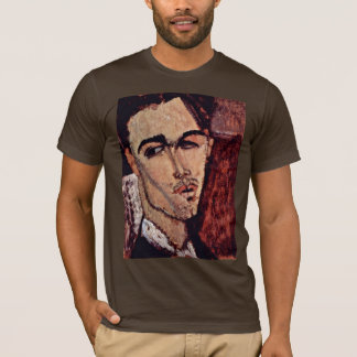 Portrait Of Celso Lagar By Modigliani Amedeo T-Shirt