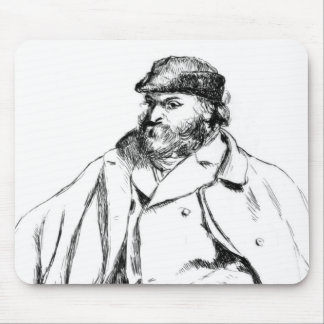 Portrait of Cezanne, 1874 Mouse Pad