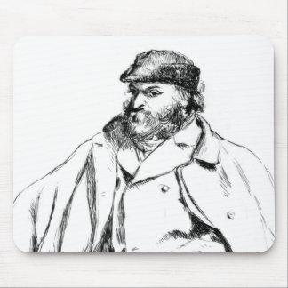 Portrait of Cezanne, 1874 Mouse Pad