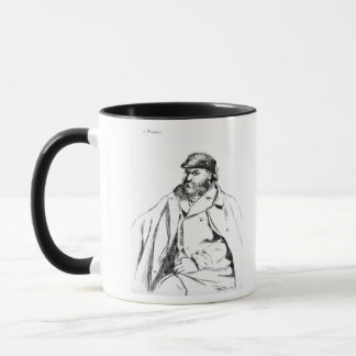 Portrait of Cezanne, 1874 Mug