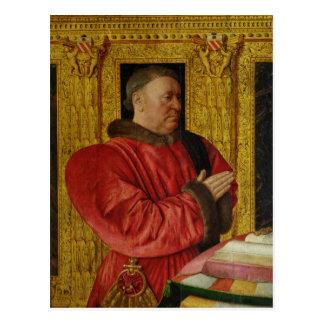 Portrait of Chancellor Guillaume Jouvenel Postcard