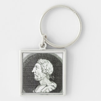 Portrait of Charlemagne Keychains