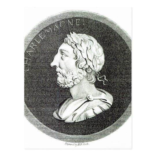 Portrait of Charlemagne Postcard