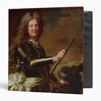 Portrait of Charles-Auguste de Matignon 3 Ring Binder