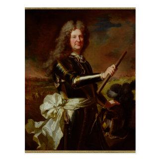 Portrait of Charles-Auguste de Matignon Postcard