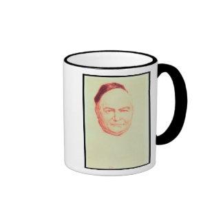 Portrait of Charles Augustin Sainte-Beuve Ringer Coffee Mug