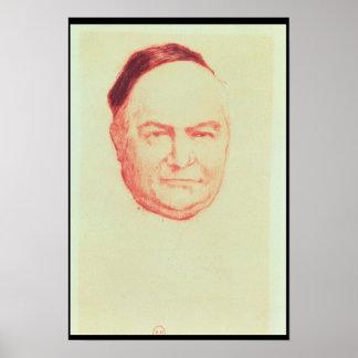 Portrait of Charles Augustin Sainte-Beuve Poster
