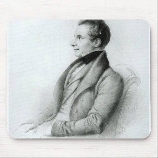 Portrait of Charles Babbage  1832 Mouse Pad