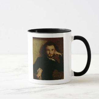 Portrait of Charles Baudelaire  1844 Mug