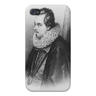 Portrait of Charles Blount 8th Earl of iPhone 4/4S Case
