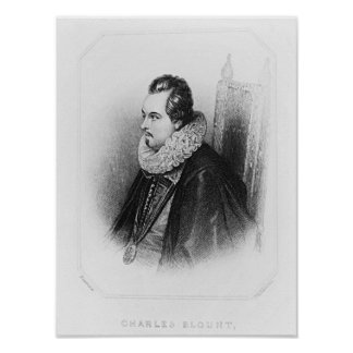 Portrait of Charles Blount  8th Earl of Poster
