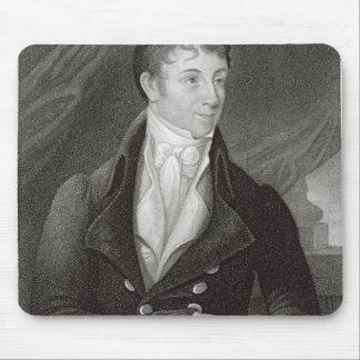Portrait of Charles Brockden Brown (1771-1810), en Mouse Pad