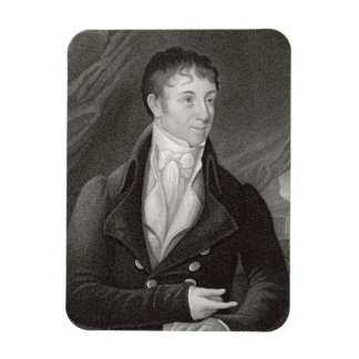 Portrait of Charles Brockden Brown (1771-1810), en Rectangular Photo Magnet