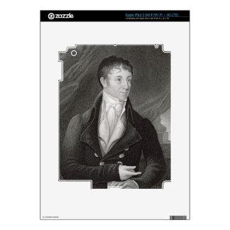 Portrait of Charles Brockden Brown (1771-1810), en Skins For iPad 3