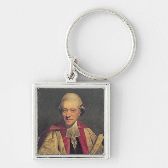 Portrait of Charles Burney, c.1781 Keychain