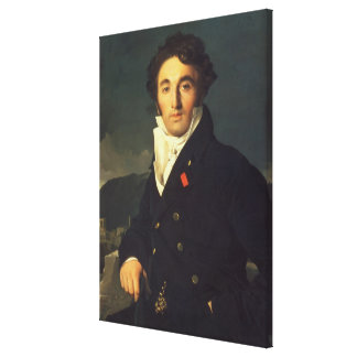 Portrait of Charles Cordier  1811 Gallery Wrap Canvas