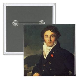 Portrait of Charles Cordier  1811 Pinback Button