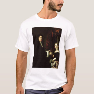 Portrait of Charles Couperin  and the Daughter T-Shirt