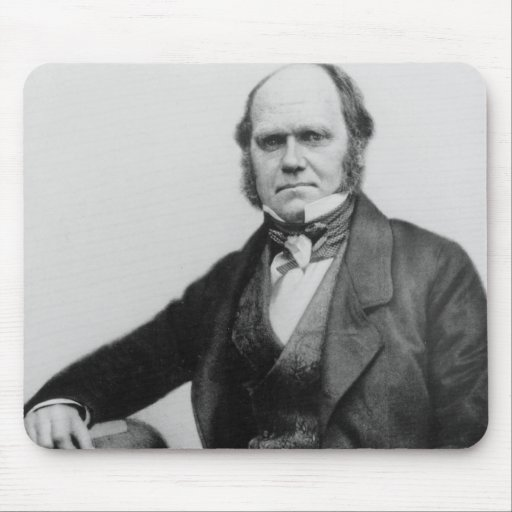 Portrait of Charles Darwin, 1854 Mouse Pad