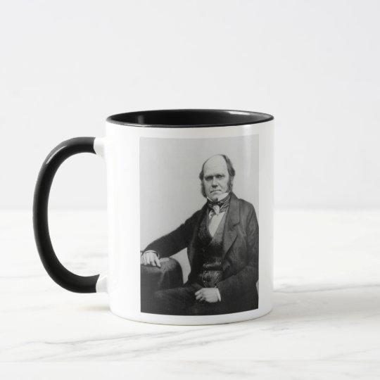 Portrait of Charles Darwin, 1854 Mug