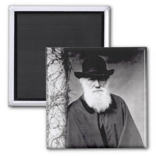 Portrait of Charles Darwin  1881 Magnet