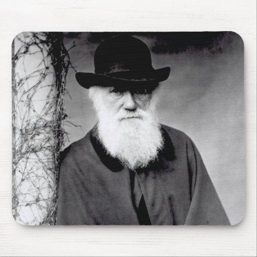 Portrait of Charles Darwin  1881 Mousepad