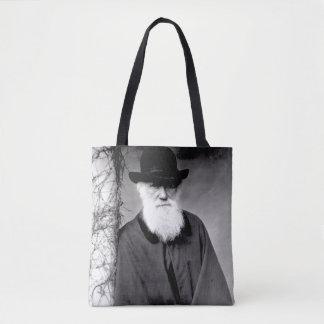 Portrait of Charles Darwin  1881 Tote Bag