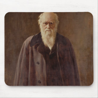 Portrait of Charles Darwin  1883 Mouse Pad
