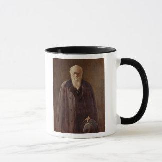 Portrait of Charles Darwin  1883 Mug