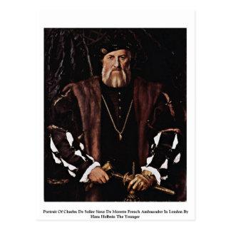 Portrait Of Charles De Solier Sieur De Morette Postcard