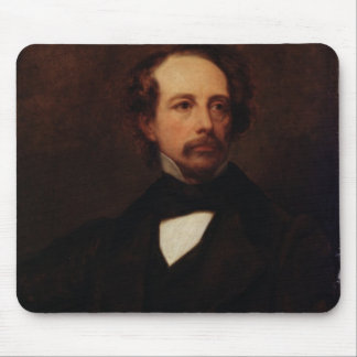 Portrait of Charles Dickens  1855 Mousepads