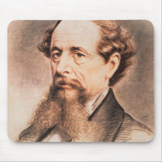 Portrait of Charles Dickens, 1869 Mouse Pad